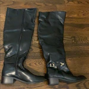 Size 9 black riding boots